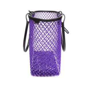 grand cabas ultra violet ouvert par maille darling